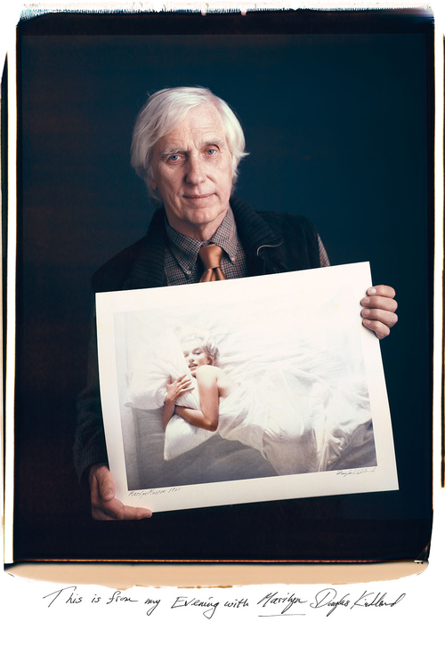 Douglas Kirkland  Mantoani Studio, San Diego  November 11, 2007  This is from my Evening with Marilyn.